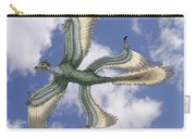 Microraptor Carry-all Pouch by Spencer Sutton