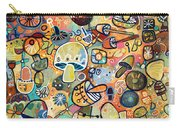 Mid Century Mushroom Madness Carry-all Pouch