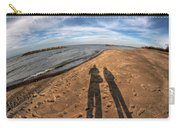 Mid Dec Day At The Beach...who Can Argue At Presque Isle State Park Series Carry-all Pouch