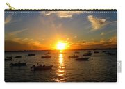 Mid Summer Sunset Over The Island Carry-all Pouch