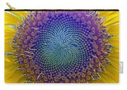 Middle Of Sunflower Close-up Carry-all Pouch