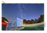 Midnight At Mount Mitchell Entrance Sign Carry-all Pouch