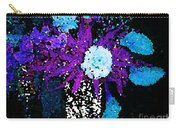 Midnight Callas And Orchids Abstract Carry-all Pouch