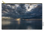 Midnight Clouds Over The Water Carry-all Pouch