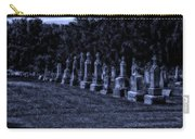 Midnight In The Garden Of Stones Carry-all Pouch by Thomas Woolworth