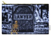 Midnight In The Graveyard With A Lawyer Carry-all Pouch