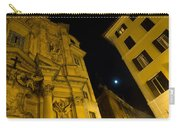 Midnight Roman Facades In Yellow  Carry-all Pouch