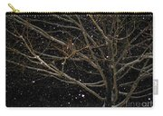 Midnight Snow Carry-all Pouch