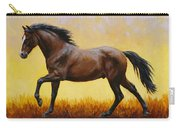 Midnight Sun Carry-all Pouch by Crista Forest