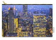 Midtown Manhattan And Empire State Building Carry-all Pouch