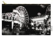 Midway Attractions In Black And White Carry-all Pouch