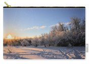 Midwinter Morning Carry-all Pouch