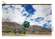 Mig-21 Fighter Plane Of Indian Air Force Used In Kargil War Displayed As Victorious Memory Carry-all Pouch