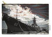 Mighty Mo U.s.s. Missouri Carry-all Pouch