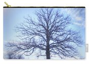 Mighty Oak In Winter Carry-all Pouch