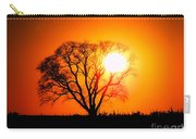 Mighty Oak Sunset Carry-all Pouch