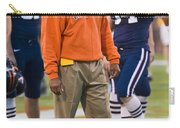 Mike London University Of Virginia Football Carry-all Pouch by Jason O Watson