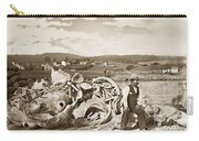 Mike Noon Monterey Whaler On Montereys Wharf  Circa 1890 Carry-all Pouch