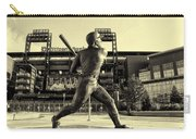 Mike Schmidt At Bat Carry-all Pouch by Bill Cannon