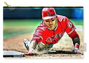 Mike Trout Painting Carry-all Pouch