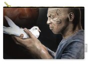 Mike Tyson And Pigeon II Carry-all Pouch