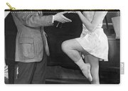 Mikhail Mordkin And Student Carry-all Pouch by Underwood Archives