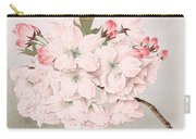Mikuruma-gaeshi - Vintage Japanese Watercolor Carry-all Pouch