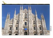 Milan Cathedral  Carry-all Pouch by Antonio Scarpi