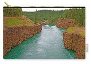 Miles Canyon In Whitehorse-yt Carry-all Pouch
