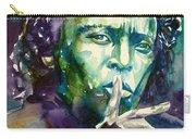 Miles Davis Watercolor Portrait.2 Carry-all Pouch