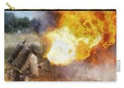 Military Flame Thrower Photo Art 01 Carry-all Pouch