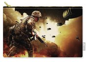 Military Our Heroes Carry-all Pouch