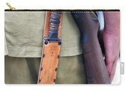Military Small Arms 01 Ww II Carry-all Pouch by Thomas Woolworth