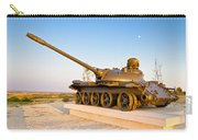 Military Tank Outdoor Installation View Carry-all Pouch