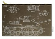 Military Tank Patent Carry-all Pouch