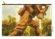 Military Ww I Doughboy 01 Photo Art Carry-all Pouch