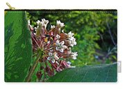 Milkweed Flowers And Leaves Carry-all Pouch
