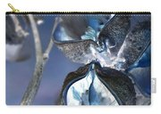 Milkweed In Blue Carry-all Pouch