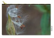 Milkweed Pod Bursting Carry-all Pouch