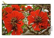 Milkwood Tree Blossoms In Donkin Reserve In Port Elizabeth-south Africa Carry-all Pouch