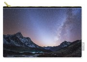 Milky Way And Zodiacal Light Ove Carry-all Pouch
