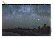 Milky Way At Mono Lake Carry-all Pouch