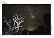 Milky Way Over Arches National Park Carry-all Pouch
