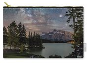 Milky Way Over Mt Rundle Carry-all Pouch
