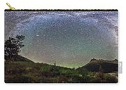 Milky Way Over Red Rock Canyon Carry-all Pouch