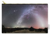 Milky Way, Zodiacal Light And Other Carry-all Pouch