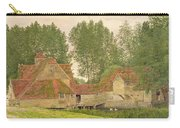 Mill On The Thames At Mapledurham, 1860 Carry-all Pouch