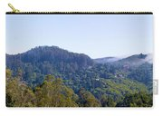 Mill Valley Ca Hills With Fog Coming In Left Panel Carry-all Pouch