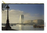 Millbank Tower During Fog, Lambeth Carry-all Pouch