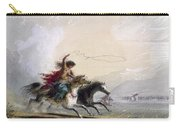 Miller - Shoshone Woman Carry-all Pouch